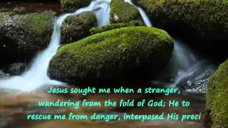 Come Thou Fount Of Every Blessing- Chris Rice-Lyrics