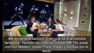 [Sub Español] BABYMETAL en TV4 de Suecia