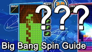 Puyo Puyo Tetris - Big Bang Spin Guide