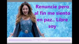 Martina Stoessel Libre Soy Frozen (letra)