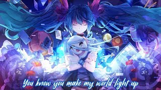 Nightcore - Faded ✗ Hymn For The Weekend ✗ All Time Low || Lyrics