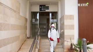 Rabat : Les opérations de sensibilisation et de désinfection se poursuivent