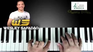 Wesley Safadão  - cover piano/teclado/tutorial - Decreto liberado