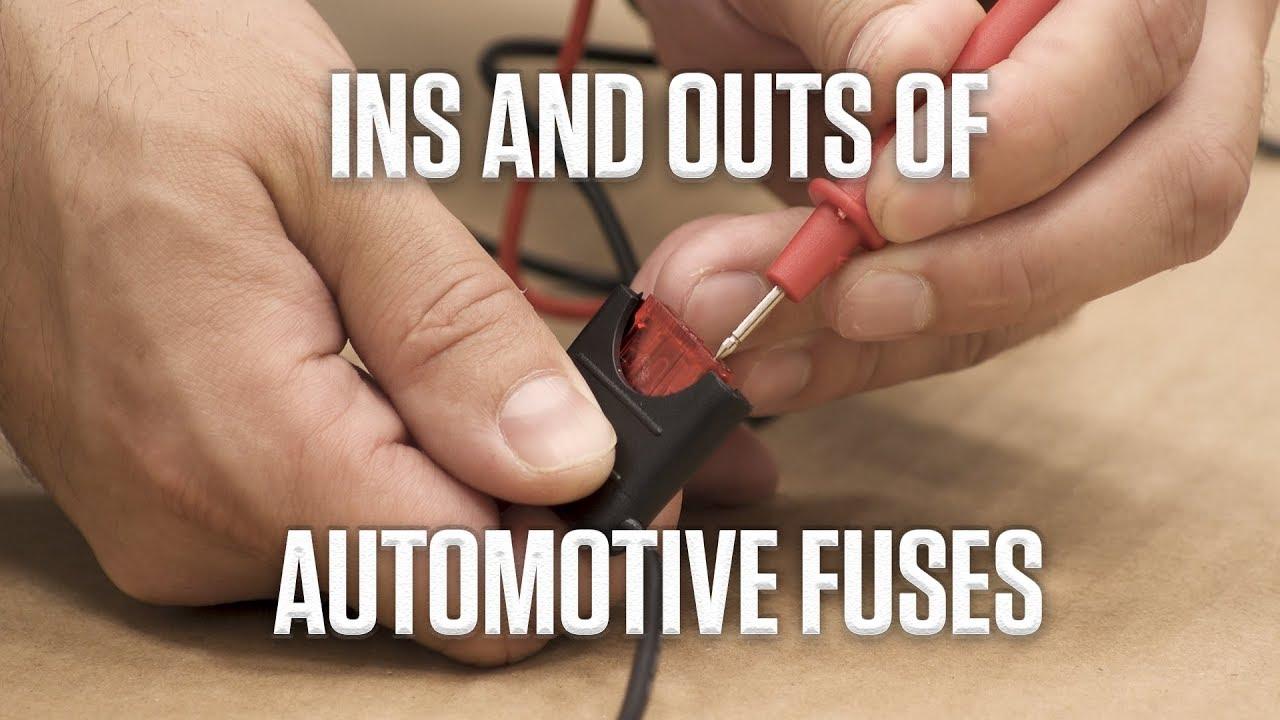 DIY: Checking automotive fuses