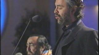 Andrea Bocelli and Luciano Pavarotti ( My way - O surdato 'nnammurato )