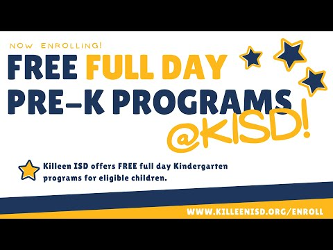 KISD Promotes the Power of PreK img