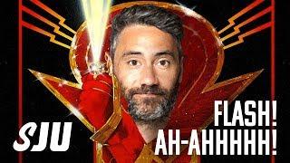 Taika Tackling Animated Flash Gordon | SJU