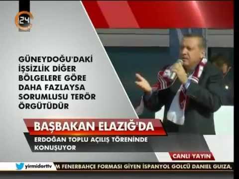 Başbakan Erdoğan. Elazığ'da Toplu Açılış Töreni Konuşması - 2