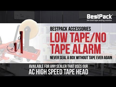 Low Tape/No Tape Alarm