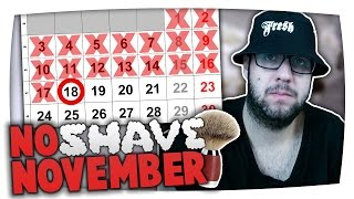 BESUCH BEI KUNGA NO SHAVE NOVEMBER #18 | Mabinuelson feat. Kunga & BTTVLOG