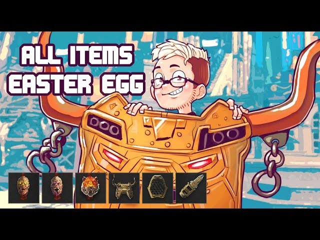 Download thumbnail for ALL ITEMS EASTER EGG On IX BO4! (Call