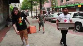 G Pen Free Tour ft. Trash Talk, Left Brain