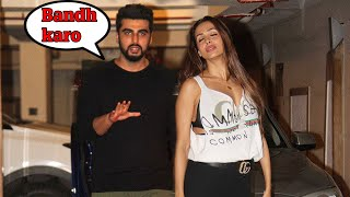 Arjun Kapoor CAUGHT With Malaika Arora At Kareena Kapoor's Birthday Party 2017 width=