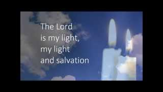 The Lord is my light TAIZE HD with on screen lyrics