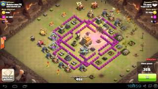 Clash of Clans Ataque - Ticano - Tuga Clã B