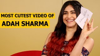 Adah Sharma Plays Her Favorite Game | Unscramble Jumble Words Challenge