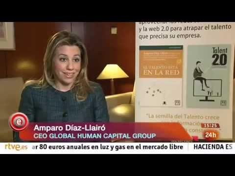 Amparo Díaz-Llairó en el programa Emprende de TVE