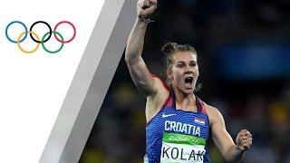 Sara Kolak becomes Javelin Olympic champion