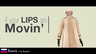 [MMD] Hetalia Characters - Lips Are Movin' (45 Gays ;)   10K SUB  