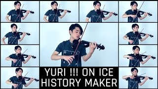 Yuri!!! on Ice Opening - History Maker [Violin Cover]【J.C.Ando】