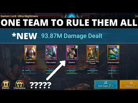 One Team to Rule Them All 2 I Raid Shadow Legends