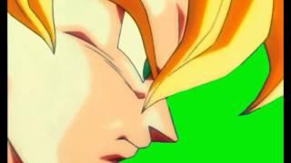 goku serious (Green Screen) HD