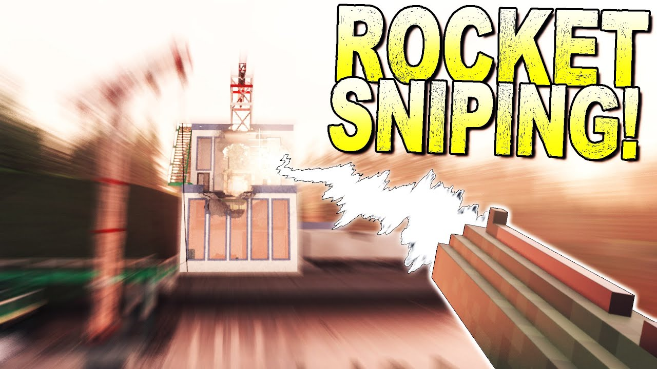ScrapMan - No Scope Sniping with a ROCKET LAUNCHER to Save Time! - Teardown Gameplay