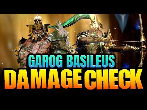 Are they HUGE damage now? King Garog and Basileus Roanas Buff I Raid Shadow Legends