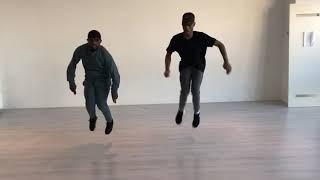 Dj poco - a revolta do Pato choreography afrohouse/kuduro steps with Carlos