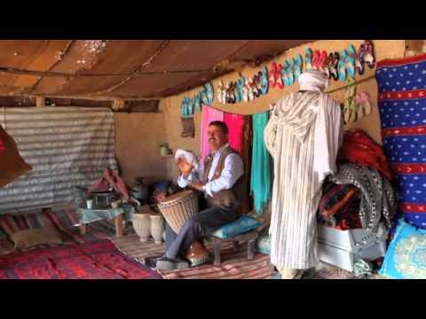Drumming in the Sahara Desert