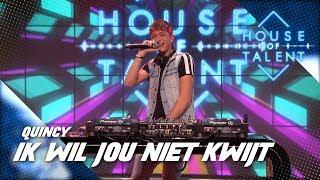 DJ Quincy bouwt een feestje in House of Talent!