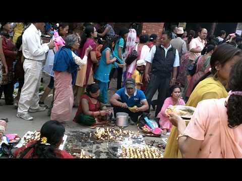 Prayer in Patan, Nepal(1)