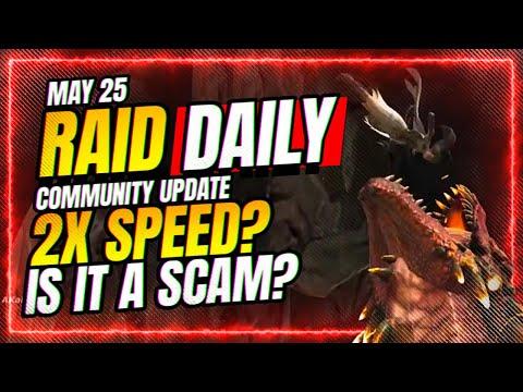500 Speed Event Runs CHARTED! | RAID Shadow Legends