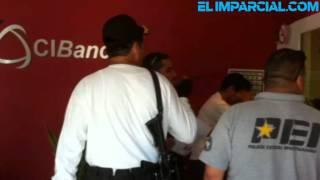 Reportan asalto en banco al Norte de Hermosillo