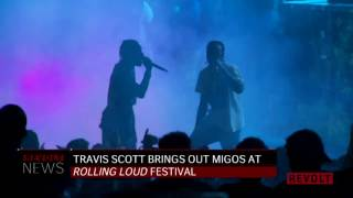 "Travis Scott Brings Out Migos For ""Kelly Price"" At Rolling Loud"