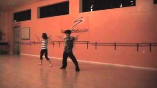 "Slash feat. Fergie ""Beautiful Dangerous"" Choreography By Chucky Klapow"