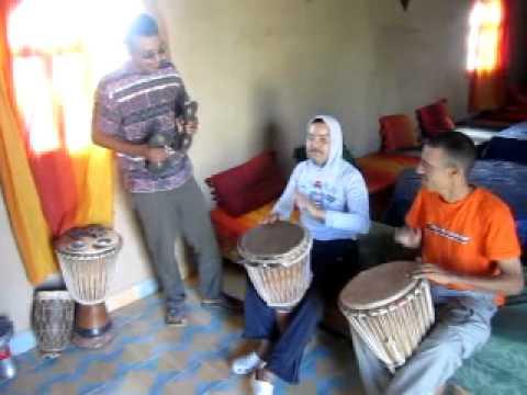 Bereber Music in Sahara Desert South Of Morocco