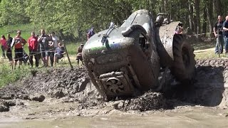 Off-Road Truck in Water pit in ORO 2016