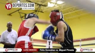 Felix Gonzalez vs. Miguel Pineda Joliet Luna Boxing 2015