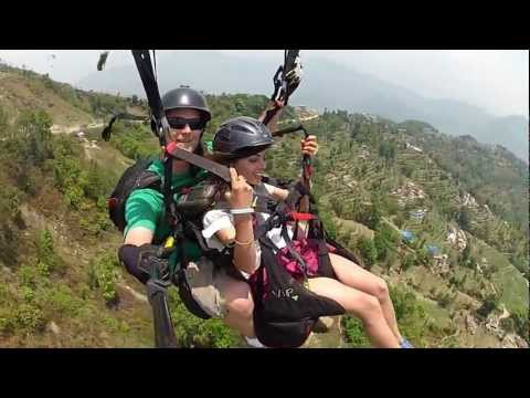 Paragliding in Nepal 2 ( Best one)
