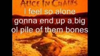 Alice In Chains Them Bones With Lyrics