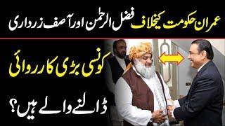 Inside story of Meeting between Asif Ali Zardari and Maulana Fazal ur Rehman