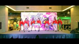 160911 [Wide] Delta Force cover AOA - Good Luck @ HaHa Cover Dance 2016 Stage 2 (Audition)