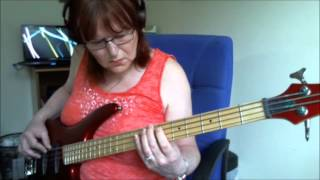 Back on the Chain Gang BASS COVER