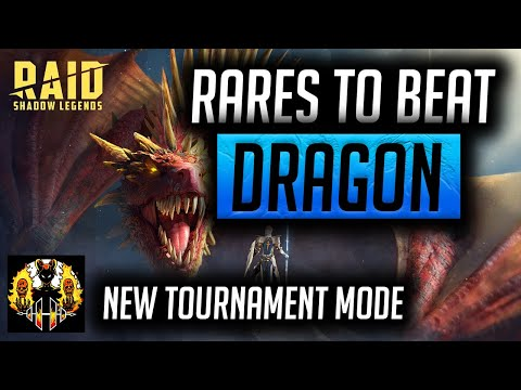 RAID: Shadow Legends | Rares to beat Dragon 20 | New Tournament mode coming!