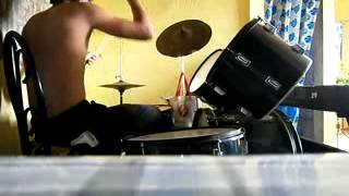 stay cueshe drum cover by brenzkie