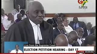 2012 Election Petition Hearing  Day 17 (15-5-13) width=