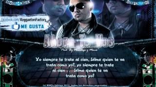 """Jadiel El Tsunami - """"Ahora te Vas"""" con Letra ★New Romantic Reggaeton 2012★"""
