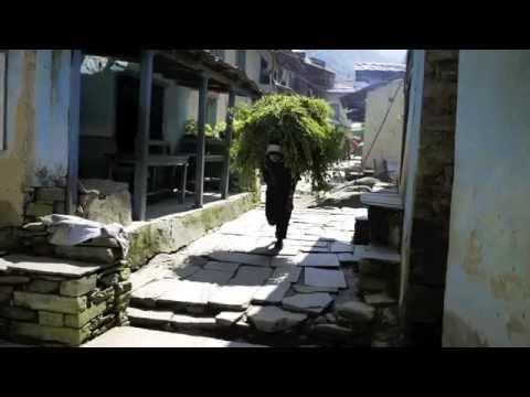 Glefsur frá Nepal október 2011.m4v