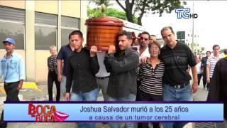 """Muere a causa de un tumor cerebral """"El Bisbal ecuatoriano"""" Joshua Salvador"""